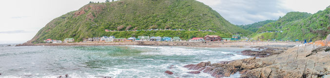 Panorama of Victoria Bay Stock Photo