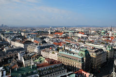 Panorama of Vienna Stock Images