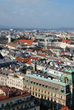 A panorama of Vienna Stock Images