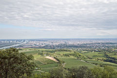 Panorama of Vienna. Royalty Free Stock Photography