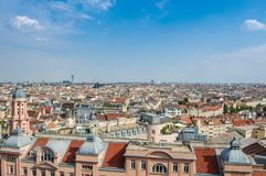 Panorama, Vienna, Austria, City Stock Images