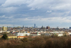 Panorama of Vienna, Austria Royalty Free Stock Image