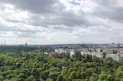 Panorama of Vienna royalty free stock photo