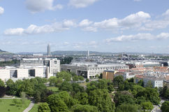 Panorama of Vienna Royalty Free Stock Images