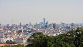 Panorama Vienna Schonbrunn Palace, Aus Stock Image