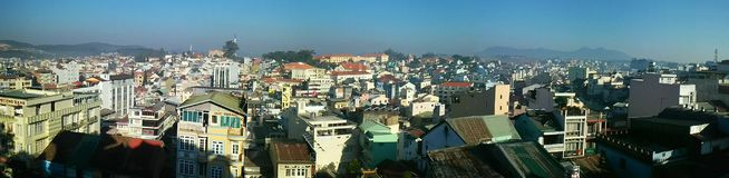 Panorama Vietnam del paisaje Imagen de archivo