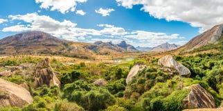 Panorama view at Anja nature reserve Stock Photos