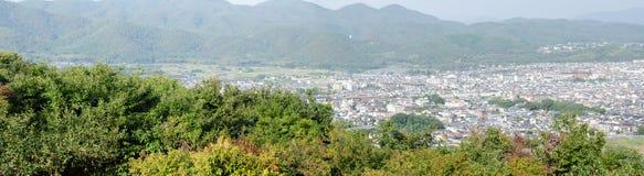 Panorama view of Arashiyama Royalty Free Stock Image