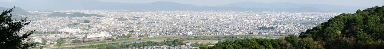 Panorama view of Arashiyama Royalty Free Stock Images