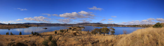 Panorama view of Australiacountry side Royalty Free Stock Images