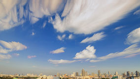 Panorama view of Bangkok city Royalty Free Stock Photography