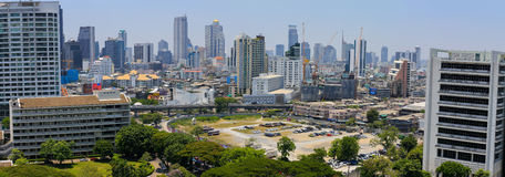 Panorama view of Bangkok Stock Photo