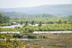 Panorama view of beauty nature Stock Photos