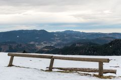 Panorama view of the black forrest in germany Royalty Free Stock Photo