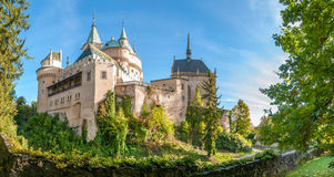 Panorama View at The Bojnice Castle Stock Photography