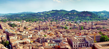 Panorama view of Bolgna Stock Photos