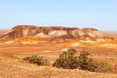 Panorama view at the sacred Breakaways, Australia Royalty Free Stock Photo