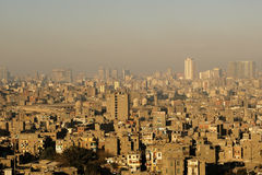 Panorama View of Cairo Royalty Free Stock Image