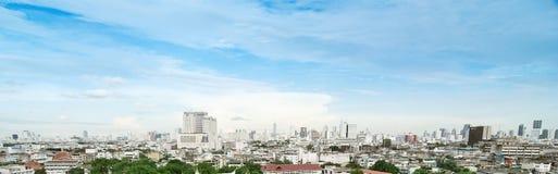 Panorama view cityscape of Bangkok, Thailand Royalty Free Stock Photography
