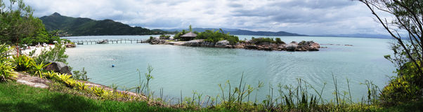 Panorama view coast Brazil Stock Photography