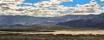 Panorama view Death Valley, California, USA. Stock Photography