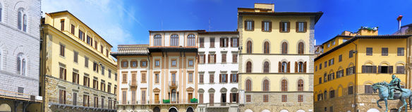 Panorama view of  Florence, Italy. Royalty Free Stock Photo