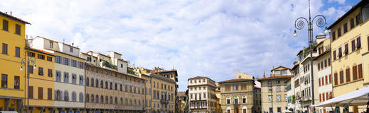 Panorama view of  Florence, Italy. Stock Photos