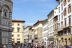Panorama view of  Florence, Italy. Stock Photography