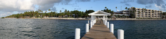 Panorama view of the Florida Keys Stock Images