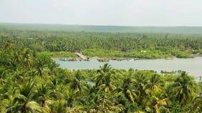 Panorama view of Goa nature in India. Panorama view of Goa beauty nature in India stock video