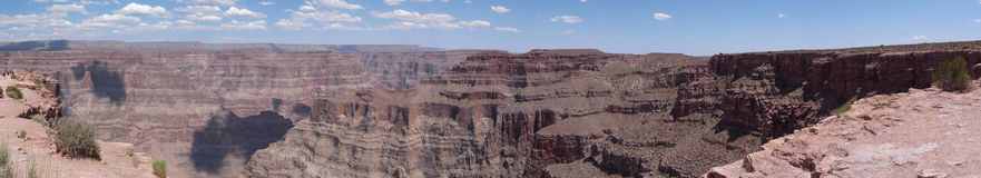 Panorama view of Grand Canyon Stock Photos