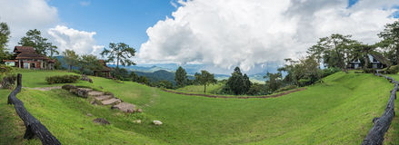Panorama view of Huay Nam Dung National Park, Thailand Royalty Free Stock Images