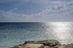 Panorama view of the image taken from Malmok Beach Royalty Free Stock Photo