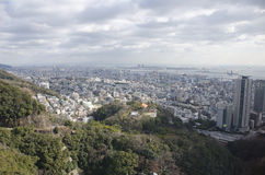 Panorama view of Kobe Stock Images