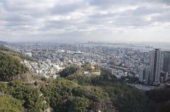 Panorama view of Kobe Stock Images