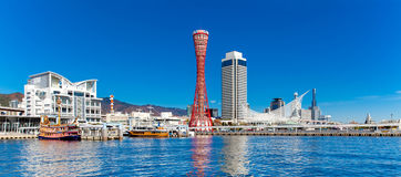 Panorama view of Kobe tower Royalty Free Stock Photography