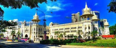 Panorama view of Kuala Lumpur Railway Station Royalty Free Stock Photo