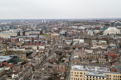 Panorama view of Liverpool Royalty Free Stock Images