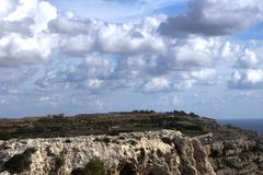 Panorama. View from Malta's Hill  with clouds Stock Photography