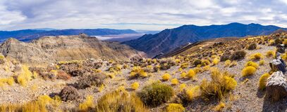 Free Panorama View Of Death Valley From Aguereberry Point Royalty Free Stock Photos - 193136488