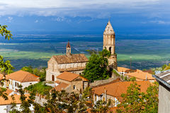 Free Panorama View Of Sighnaghi (Signagi) City In Kakheti Region In G Royalty Free Stock Photography - 55905927