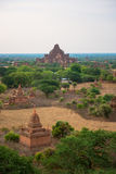 Panorama view of Old Bagan Stock Photography