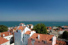 Panorama view from Oporto City Royalty Free Stock Photo