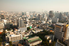 Panorama view over Bangkok Stock Image