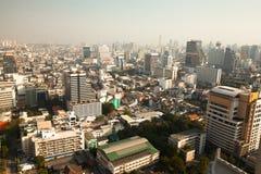 Panorama view over Bangkok Stock Image