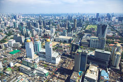 Panorama view over Bangkok Stock Images