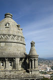 Panorama view over the city Viana do Castelo, Portugal Stock Photo