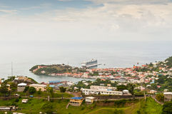 Panorama view over Saint George's Royalty Free Stock Images