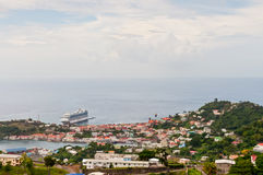 Panorama view over Saint George's Royalty Free Stock Photo