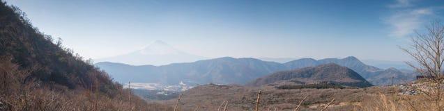 Panorama view from Owakudani. Stock Image